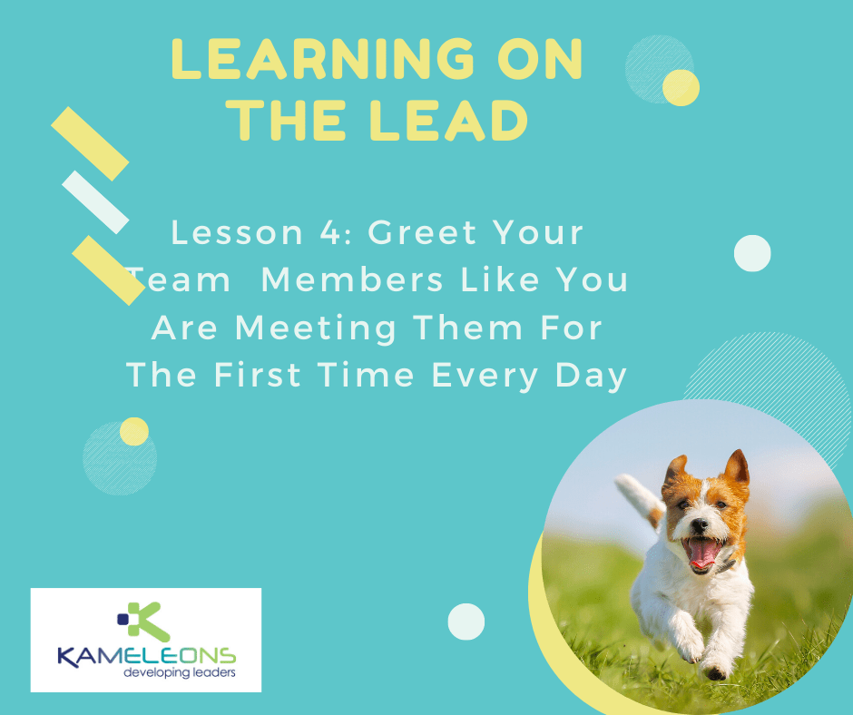Learning On the Lead Lesson 4