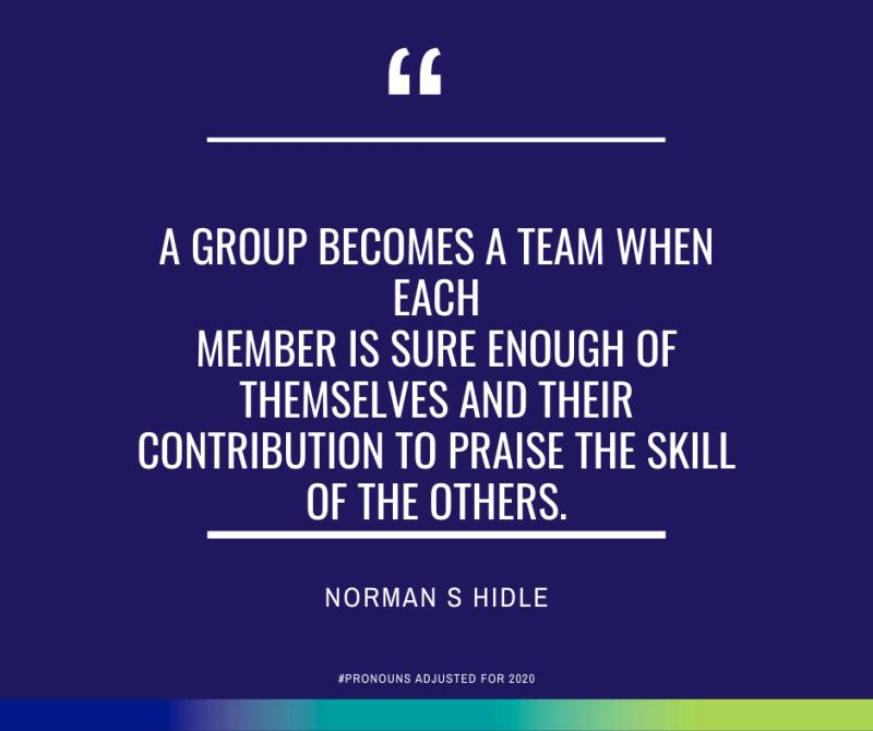 When a Leadership Group Becomes a Team
