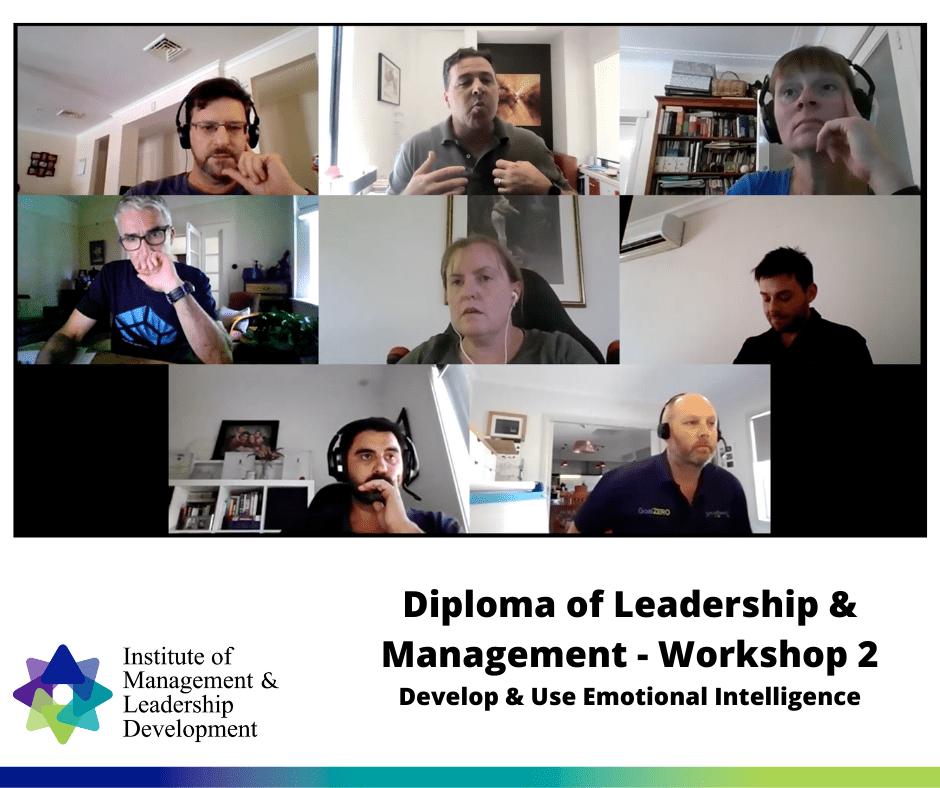 Diploma of Leadership & Management - Workshop 2