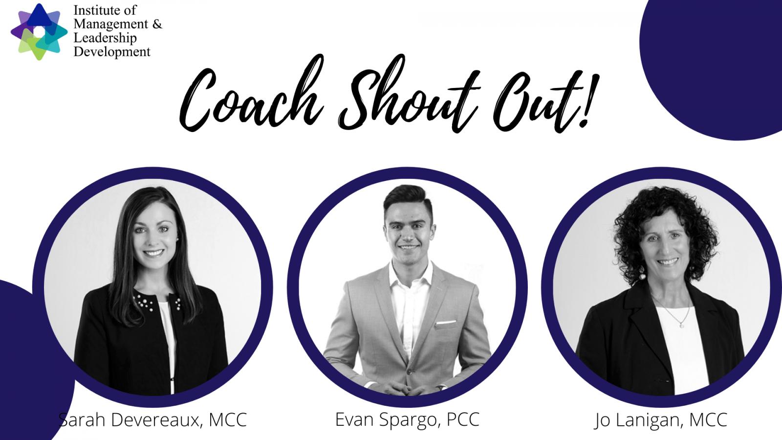 Executive Coach Shout Out