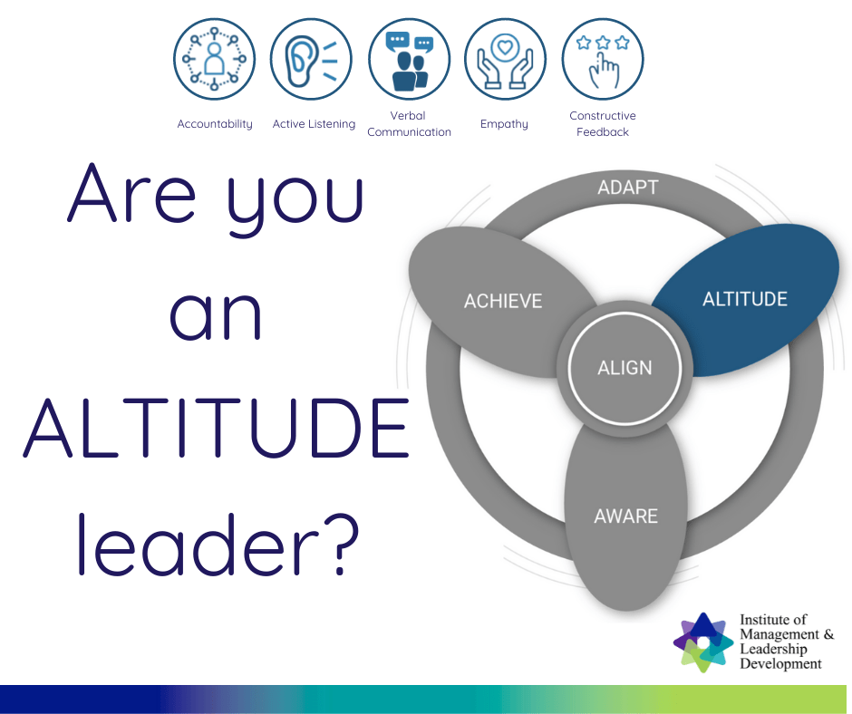 Effective Leadership - Are you an ALTITUDE Leader?