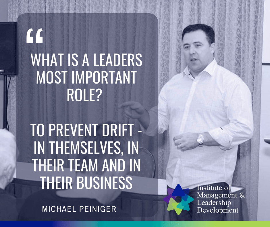 What is the most important role of a leader?