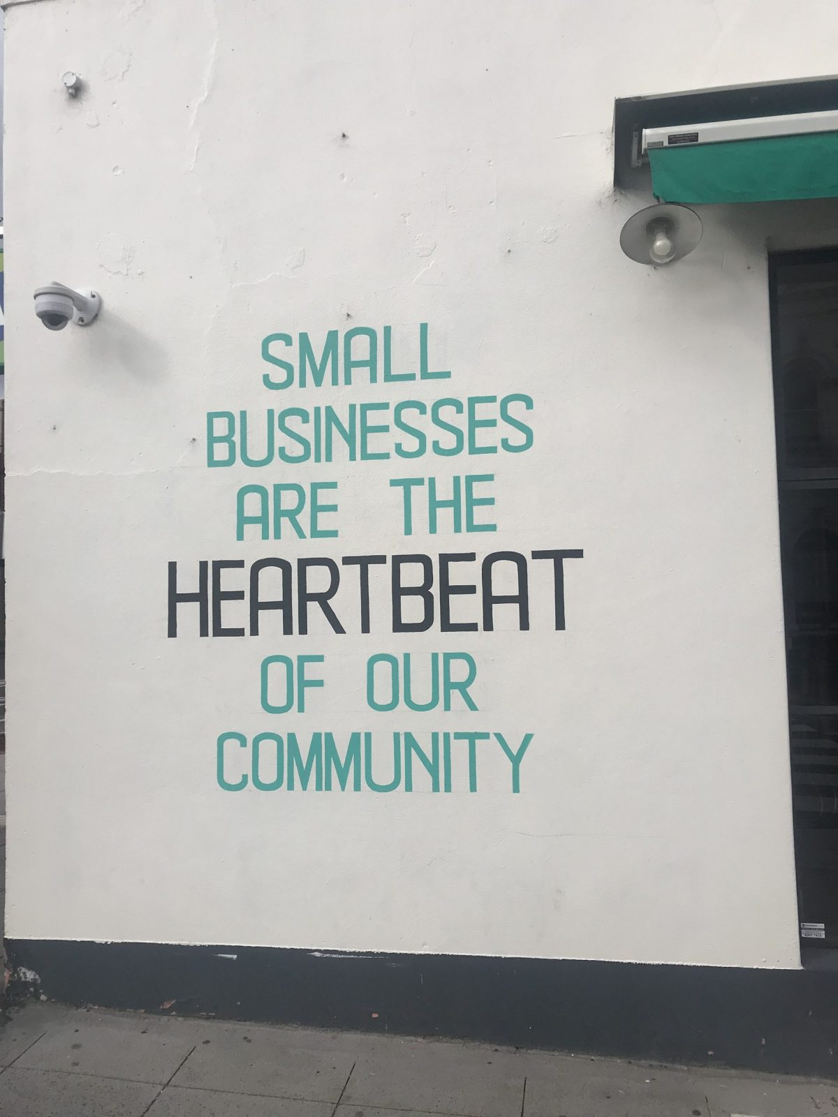 Small Businesses are the heartbeat of a community